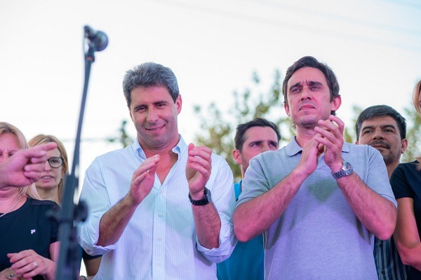 En campaña: Baistrocchi y Uñac defendieron el modelo político de San Juan y criticaron a Macri