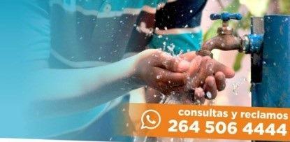 En Rivadavia cortarán el servicio de agua potable