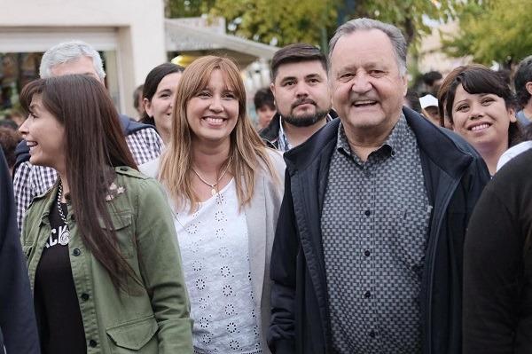 Sanchez invitó a comerciantes de Pocito a seguir trabajando por el crecimiento del departamento