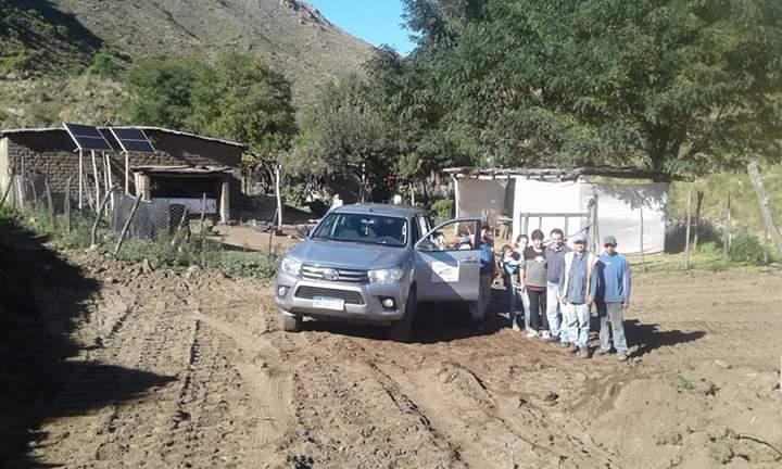 En el aniversario de Valle Fértil el nuevo camino llegó a Sierras de Chávez