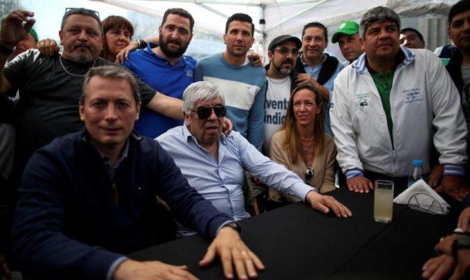 Hugo Moyano exige aumento salarial del 40% para Camioneros