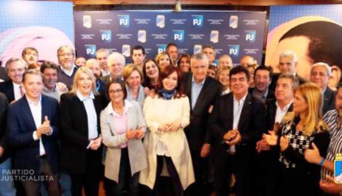Quién es quién en la foto de la cumbre del PJ donde estuvo Cristina