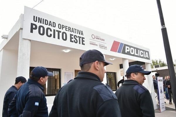 Pocito suma una nueva unidad operativa de la Policía para la zona este