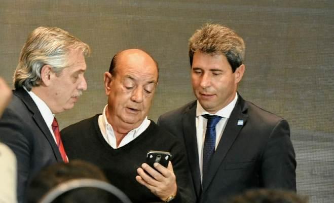 Alberto Fernández estuvo en San Juan y recordó a Diario Las Noticias junto a su director, Ricardo Azócar