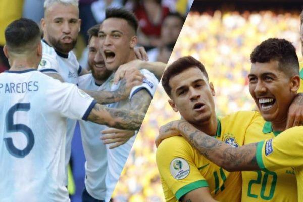 Argentina y Brasil: en busca de un lugar en la final de la Copa América