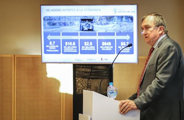 Veladero aportó 8.900 millones de dólares a la economía nacional en 14 años