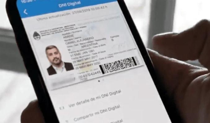 El Gobierno lanzó el DNI digital