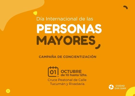 Capital festeja el día internacional de las personas mayores
