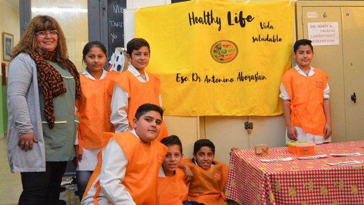 Un concurso de Entornos Saludables para enseñar sobre alimentación sana