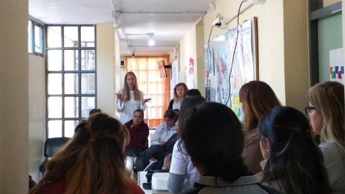 Hubo testeo masivo de VPH en Angaco