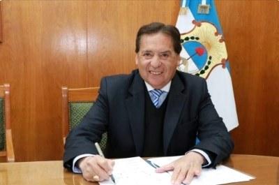 Juan Carlos Abarca  jura como Diputado y Presidente del bloque
