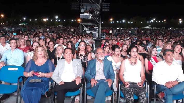 """""""Más de 30.000 Personas disfrutaron de la Primera Noche de la """"Fiesta de Albardón"""""""