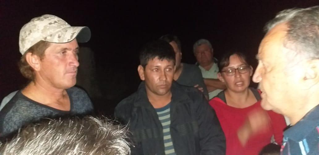 El intendente de Pocito visitó a los vecinos afectados por la lluvia