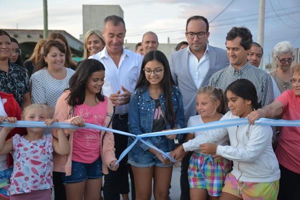 Inauguraron una nueva plaza en el Barrio Posta del Ángel, en Rivadavia