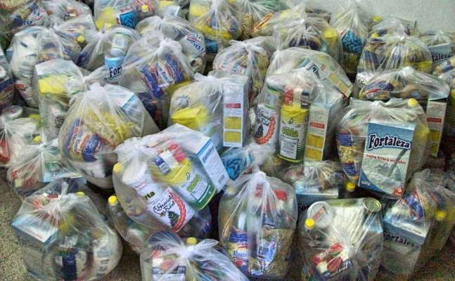 El Municipio de Angaco entregó módulos alimentarios