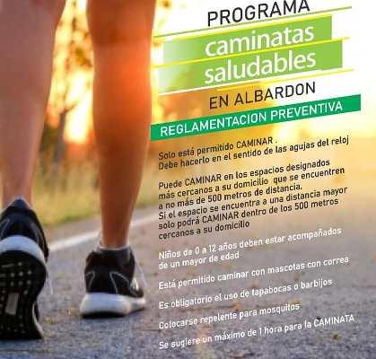 Programa Caminatas Saludables en Albardón