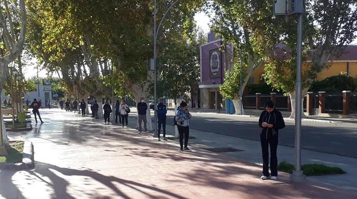 En Albardón siguen construyendo viviendas, pero a ritmo lento