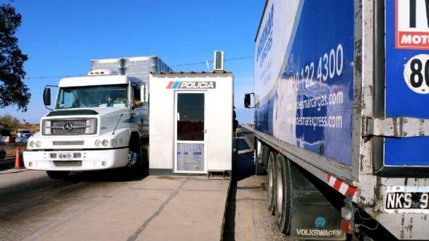 Tres camioneros dieron positivo en los test rápido en San Juan