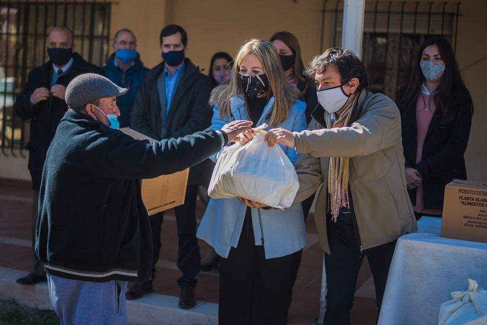 Rivadavia: Extender la mano en tiempos de pandemia