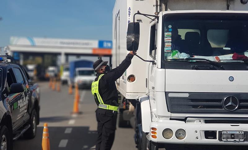 Los camioneros sólo se realizarán los test rápidos ¿estás de acuerdo?