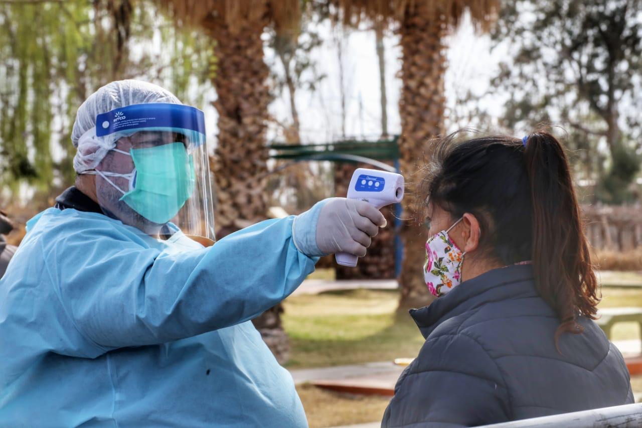 Abordaje sanitario y preventivo en la zona Este de Chimbas