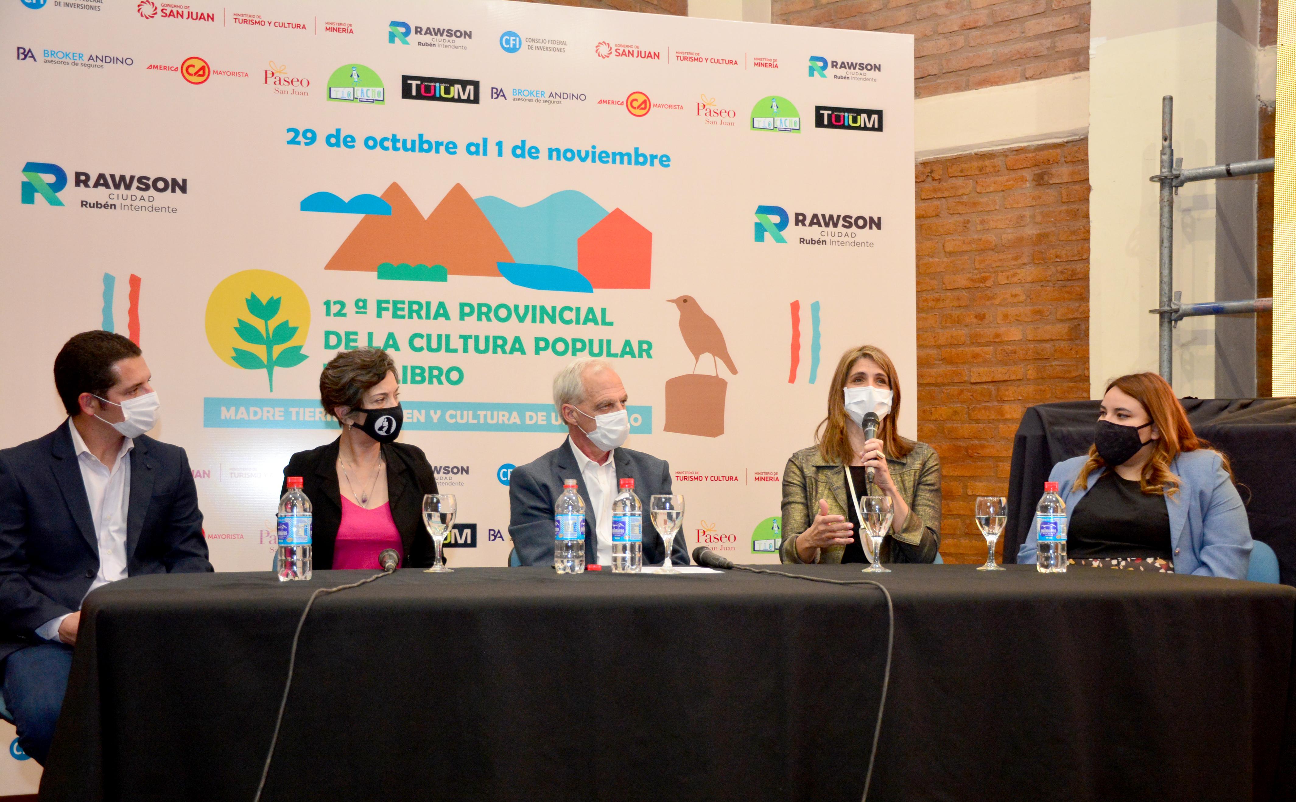 Rawson: La 12º Feria Provincial de la Cultura Popular y el Libro será online