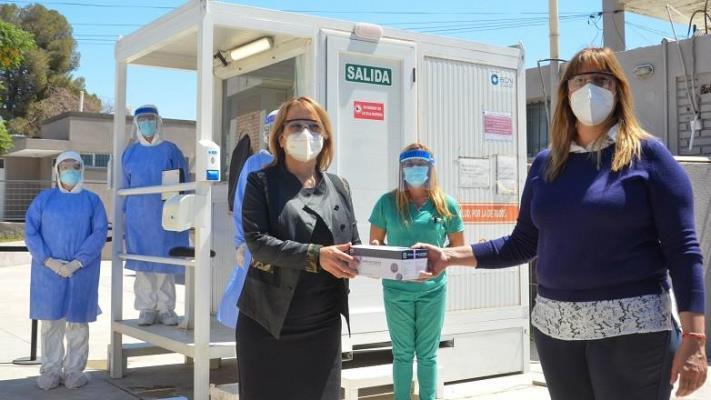 """Lanzaron el nuevo test """"Detectar salud"""" en San Juan"""