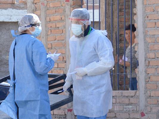 Realizan rastrillajes en Pocito por casos de coronavirus