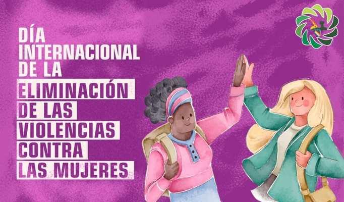 """Valle fértil conmemoró el """"Día de la eliminación de la Violencia contra la mujer"""""""