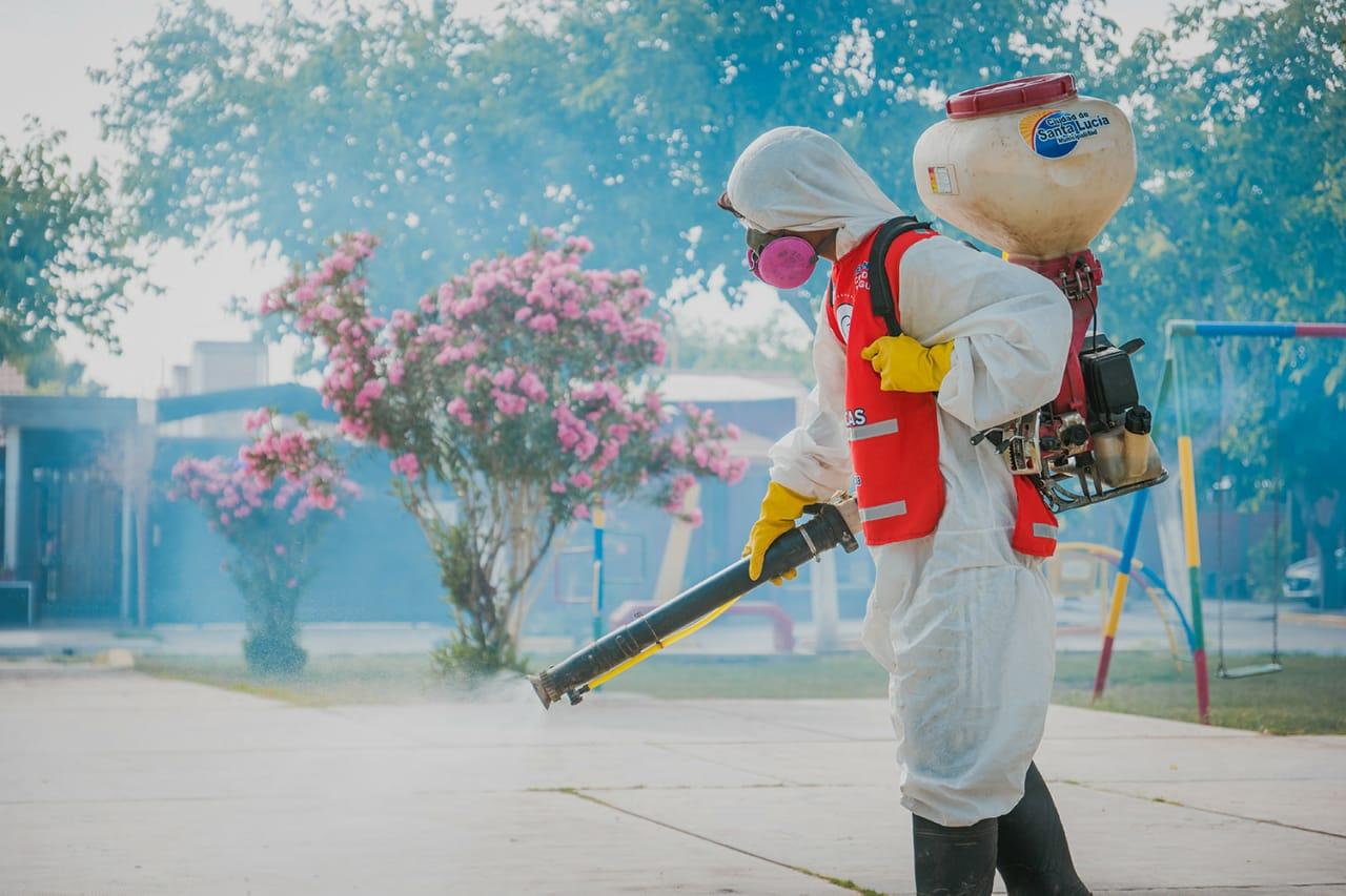 Santa Lucía refuerza el operativo sanitario para combatir el dengue