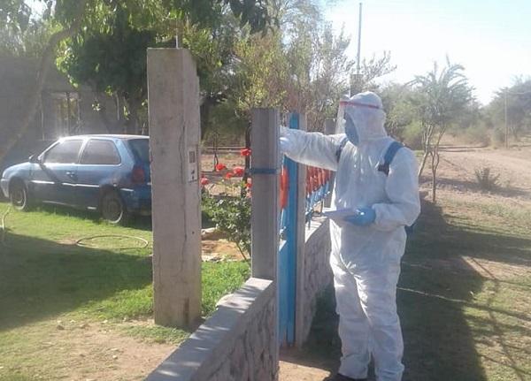 Continúa la campaña para combatir el dengue en Valle Fértil