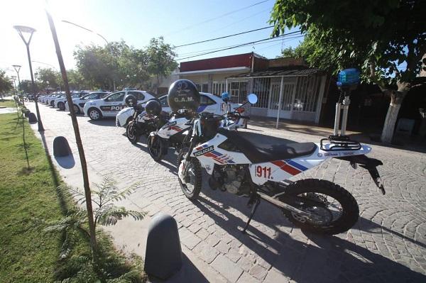 Nuevas movilidades policiales y cámaras de seguridad para Chimbas