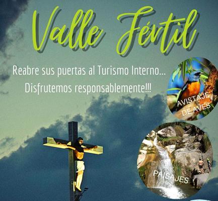 Valle Fértil recibirá turismo interno a partir de este fin de semana
