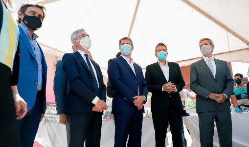 El gobierno provincial firmó con Nación para que financien las obras de la Red Tulum