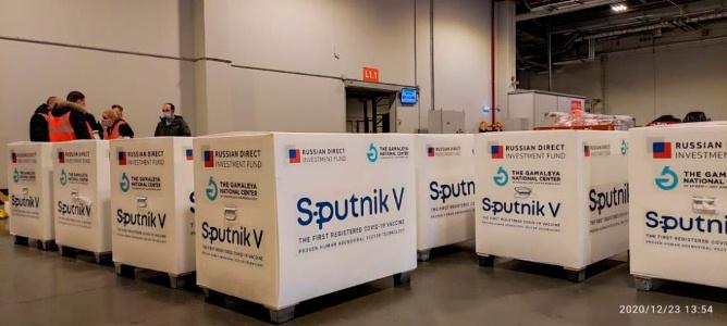 La vacuna Sputnik V llega al país el jueves