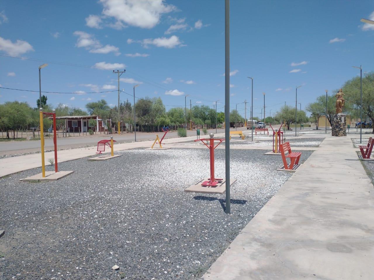 Caucete: Finalizaron las obras de mantenimiento en Bermejo