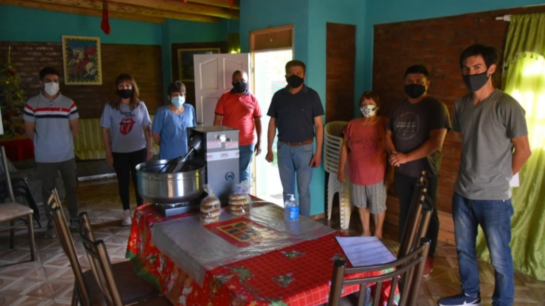 Jáchal: 42 vecinos recibieron beneficios para potenciar sus emprendimientos