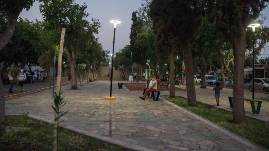 Rivadavia: inauguran las remodelaciones en la plazoleta del barrio Sargento Cabral