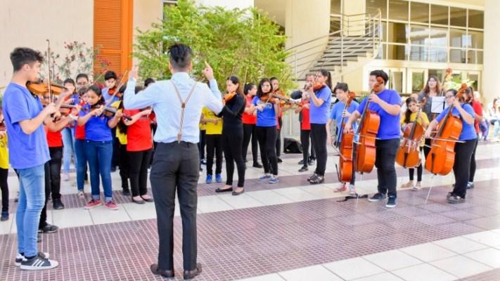 La Orquesta Escuela culminó el 2020 con nuevos logros