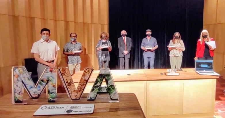 Se distinguieron a los primeros lugares del concurso Muestra Virtual de Arte realizado por Anchipurac