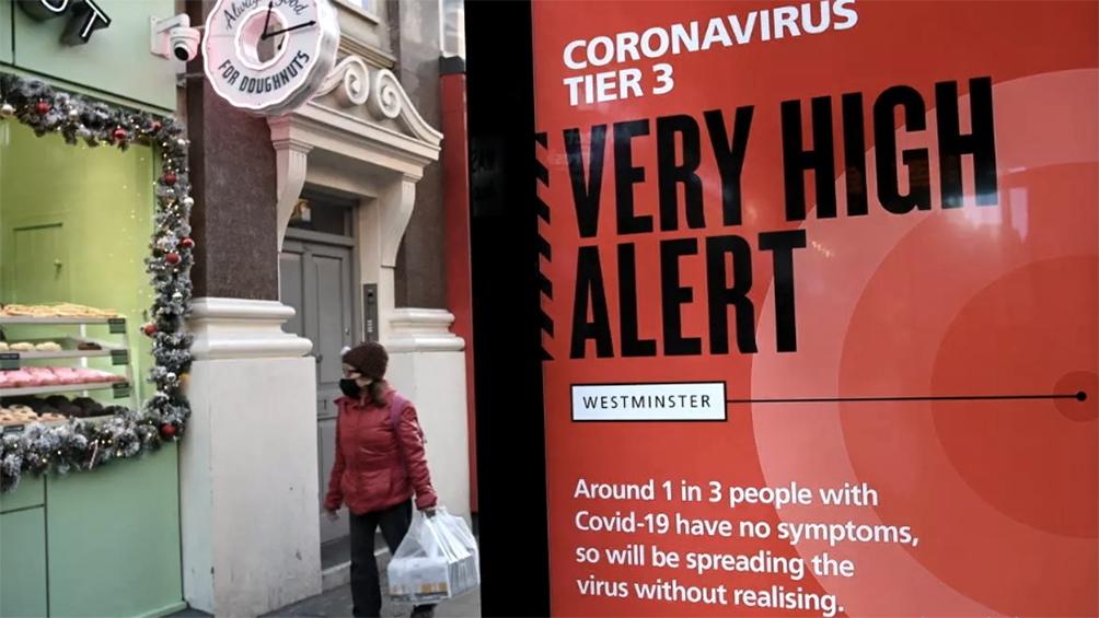 La OMS alerta sobre la nocividad de la nueva cepa británica con Europa al borde del colapso