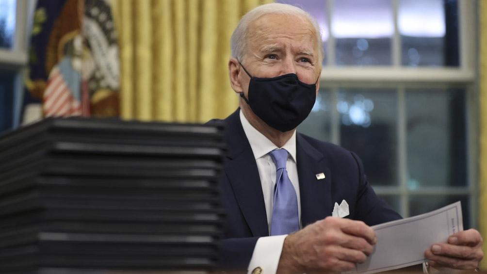 Biden empieza a deshacerse de la herencia de Trump: EEUU vuelve al Acuerdo de París y a la OMS