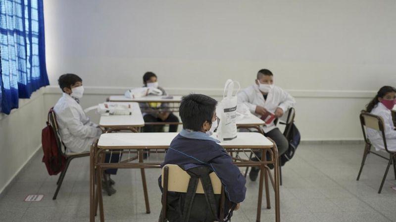 Clases presenciales: 1200 alumnos sanjuaninos volverán a las aulas en febrero