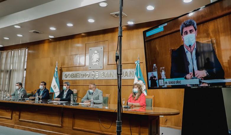La Provincia concretó el pago total de $247 millones a los 19 municipios para los afectados por el terremoto