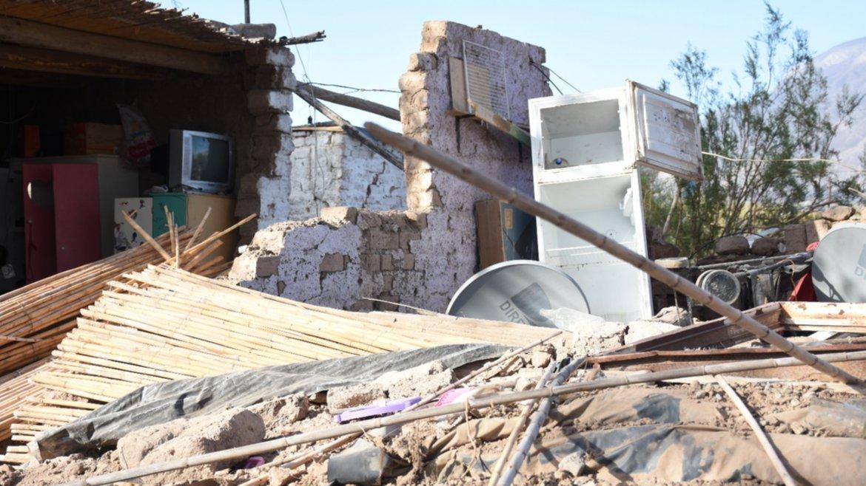 Sarmiento pagará el alquiler de las familias que perdieron su casa en el terremoto