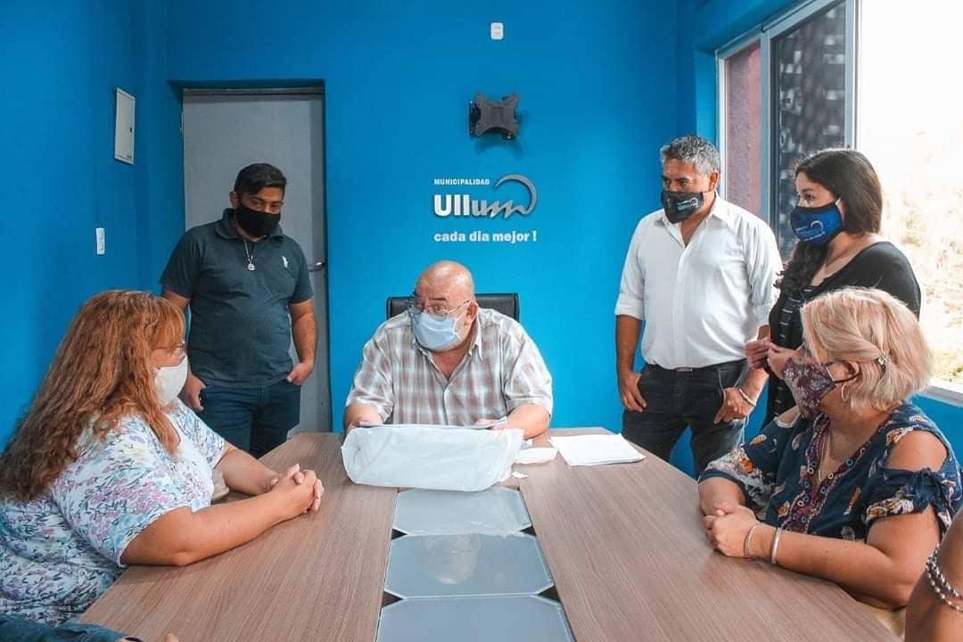 RENATEP: Entrega de comprobantes de inscripción a 700 vecinos de Ullum