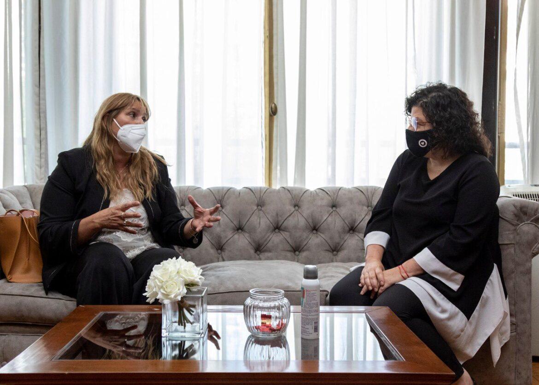 Venerando se reunió con  la ministra de Salud de la Nación