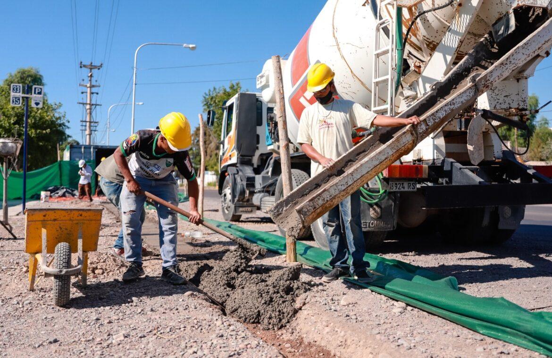 Continúan las obras en Concepción, esta vez en Salta y Benavídez
