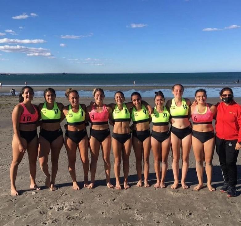 Cierre de los equipos sanjuaninos en la Copa Argentina de Beach Handball