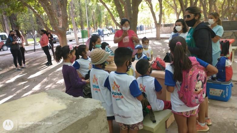 Realizaron controles sanitarios a niños de San Martín